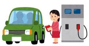 ガソリンの給油口がどっちかわからない!車から降りずに確認する方法!ペーパードライバーの方必見!