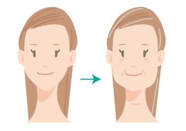 加齢で顔が長くデカくなる!原因と対策